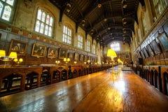 Τραπεζαρία (προηγούμενο-αίθουσα) αναμνηστικός πόλεμος της Οξφόρδης UK κήπων εκκλησιών Χριστού Πανεπιστήμιο της Οξφόρδης Αγγλία στοκ φωτογραφία με δικαίωμα ελεύθερης χρήσης
