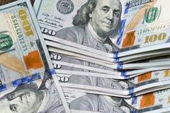 Τραπεζογραμμάτια, αμερικανικό δολάριο Στοκ εικόνα με δικαίωμα ελεύθερης χρήσης