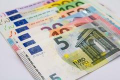 τραπεζογραμμάτια ευρωπ&alp Στοκ Εικόνες