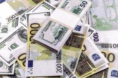 Τραπεζογραμμάτια Στοκ εικόνα με δικαίωμα ελεύθερης χρήσης