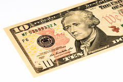 Τραπεζογραμμάτιο ΑΜΕΡΙΚΑΝΙΚΟΥ νομίσματος Στοκ εικόνες με δικαίωμα ελεύθερης χρήσης