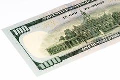 Τραπεζογραμμάτιο ΑΜΕΡΙΚΑΝΙΚΟΥ νομίσματος Στοκ Εικόνες