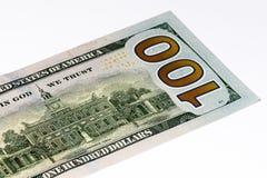 Τραπεζογραμμάτιο ΑΜΕΡΙΚΑΝΙΚΟΥ νομίσματος Στοκ φωτογραφία με δικαίωμα ελεύθερης χρήσης