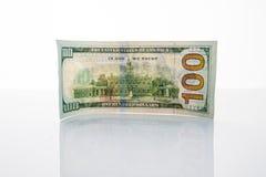 Τραπεζογραμμάτιο εκατό δολάρια Στοκ εικόνα με δικαίωμα ελεύθερης χρήσης