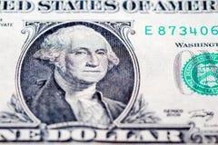 Τραπεζογραμμάτιο μετρητών αμερικανικών δολαρίων Στοκ φωτογραφία με δικαίωμα ελεύθερης χρήσης