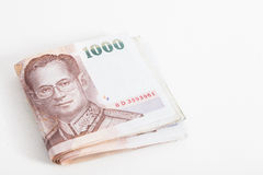τραπεζογραμμάτιο Ταϊλανδός Στοκ εικόνα με δικαίωμα ελεύθερης χρήσης