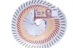 Τραπεζογραμμάτιο της Ταϊλάνδης Στοκ Εικόνα