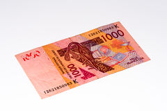 Τραπεζογραμμάτιο Currancy της Αφρικής Στοκ φωτογραφία με δικαίωμα ελεύθερης χρήσης