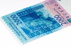 Τραπεζογραμμάτιο Currancy της Αφρικής Στοκ εικόνες με δικαίωμα ελεύθερης χρήσης