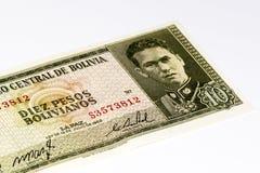Τραπεζογραμμάτιο currancy της Νότιας Αμερικής Στοκ Εικόνα