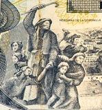 Τραπεζογραμμάτιο currancy της Νότιας Αμερικής Στοκ φωτογραφία με δικαίωμα ελεύθερης χρήσης