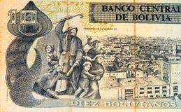 Τραπεζογραμμάτιο currancy της Νότιας Αμερικής Στοκ Εικόνες