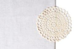 τραπεζομάντιλο πετσετών ακρών Στοκ φωτογραφία με δικαίωμα ελεύθερης χρήσης