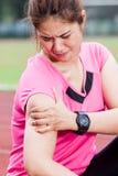Τραυματισμός ώμου Στοκ φωτογραφίες με δικαίωμα ελεύθερης χρήσης