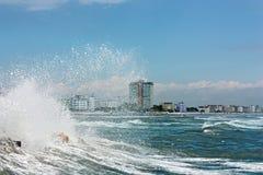 τραχιά θάλασσα Στοκ εικόνες με δικαίωμα ελεύθερης χρήσης