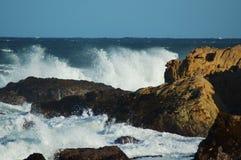 τραχιά θάλασσα Στοκ φωτογραφία με δικαίωμα ελεύθερης χρήσης