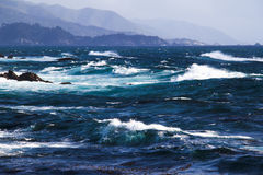 τραχιά θάλασσα Στοκ εικόνα με δικαίωμα ελεύθερης χρήσης