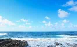 Τραχιά θάλασσα Argentiera Στοκ Φωτογραφίες
