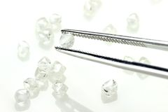 Τραχιά διαμάντια 06 Στοκ εικόνες με δικαίωμα ελεύθερης χρήσης