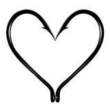 Τραχιά καρδιά Στοκ φωτογραφίες με δικαίωμα ελεύθερης χρήσης