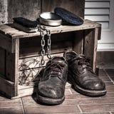 Τραχιά παπούτσια Στοκ Εικόνα