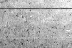 Τραχιά, σκουριασμένη, παλαιά σύσταση μετάλλων με τις οριζόντιες γραμμές Στοκ Εικόνα
