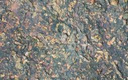 Τραχιά σύσταση ανασκόπησης βράχου πετρών γρανίτη Στοκ Εικόνες