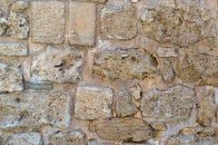 Τραχιά σύσταση ενός τούβλου πετρών Στοκ Εικόνα