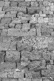 Τραχιά σύσταση ενός τούβλου πετρών Στοκ Εικόνες