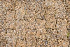 Τραχιά σύσταση πετρών μονοπατιών Στοκ Φωτογραφίες