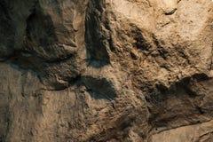 Τραχιά σύσταση της πέτρας βράχου Στοκ Φωτογραφία