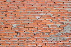 Τραχιά τεκτονική τούβλου Στοκ φωτογραφία με δικαίωμα ελεύθερης χρήσης