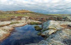 Τραχιοί λόφοι Στοκ Εικόνες