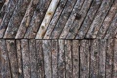 Τραχύς τοίχος ξύλων Συστάσεις υποβάθρου στοκ εικόνα με δικαίωμα ελεύθερης χρήσης
