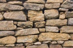 Τραχύς τοίχος πετρών Στοκ Φωτογραφίες
