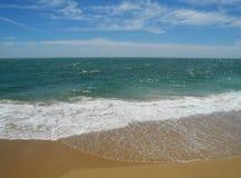Τραχύς ωκεανός, Ατλαντικός Ωκεανός, Καντίζ, Spane Στοκ Εικόνες