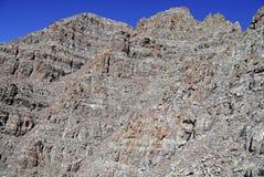 Τραχύ αλπικό τοπίο των καφέ κουδουνιών και της σειράς αλκών, Κολοράντο, δύσκολα βουνά στοκ φωτογραφία