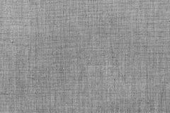 Τραχύ γκρίζο ύφασμα λινού στοκ εικόνα με δικαίωμα ελεύθερης χρήσης