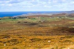 Τραχύ κοβάλτιο Donegal τοπίο, Ιρλανδία Στοκ φωτογραφία με δικαίωμα ελεύθερης χρήσης