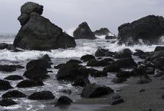 Τραχύ Pacific Coast σε Καλιφόρνια Στοκ φωτογραφίες με δικαίωμα ελεύθερης χρήσης