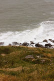 τραχύ seascape Στοκ φωτογραφίες με δικαίωμα ελεύθερης χρήσης
