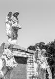 Τρεις άγγελοι στο νεκροταφείο Στοκ φωτογραφία με δικαίωμα ελεύθερης χρήσης