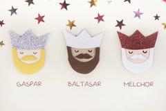 Τρεις βασιλιάδες της Ανατολής Στοκ Εικόνα