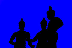 Τρεις βασιλιάδες σε Chiang Mai Στοκ Φωτογραφία