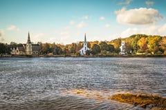 Τρεις εκκλησίες του κόλπου Mahone Στοκ Φωτογραφίες