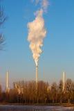 Τρεις καπνοδόχοι Στοκ φωτογραφία με δικαίωμα ελεύθερης χρήσης