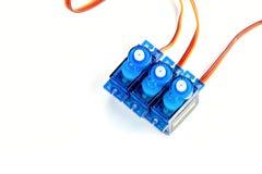 Τρεις μικρές ηλεκτρικές μηχανές Στοκ Φωτογραφίες
