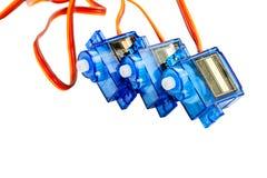 Τρεις μικρές ηλεκτρικές μηχανές Στοκ εικόνα με δικαίωμα ελεύθερης χρήσης