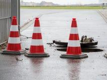 Τρεις πυλώνες στον άξονα Στοκ εικόνα με δικαίωμα ελεύθερης χρήσης