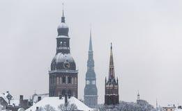 τρεις πύργοι Στοκ Εικόνες